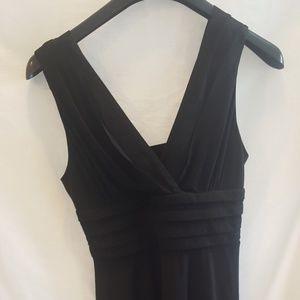 CHETTA B Black Maxi Dress